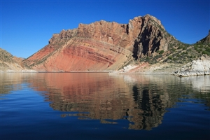 Red Rocks and the Flaming Gorge Reservoir