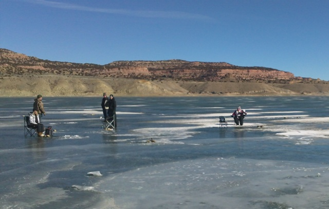 Fishing for Burbot at the Flaming Gorge during the 2013 Burbot Bash