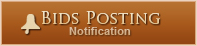 Click here to be notified about new bid postings.