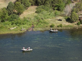 Drift Boats on the Green River!