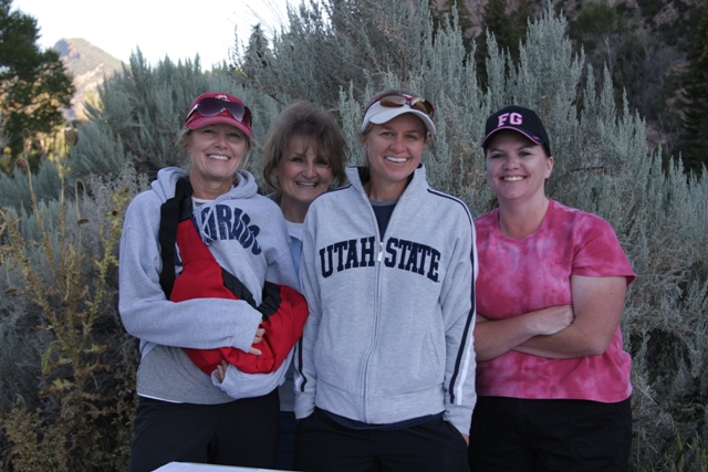 Photo of some of the many volunteers during the 2011 Tower Rock Run